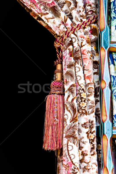 Stock photo: Nice curtain