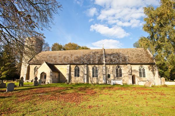 Village church Stock photo © trgowanlock
