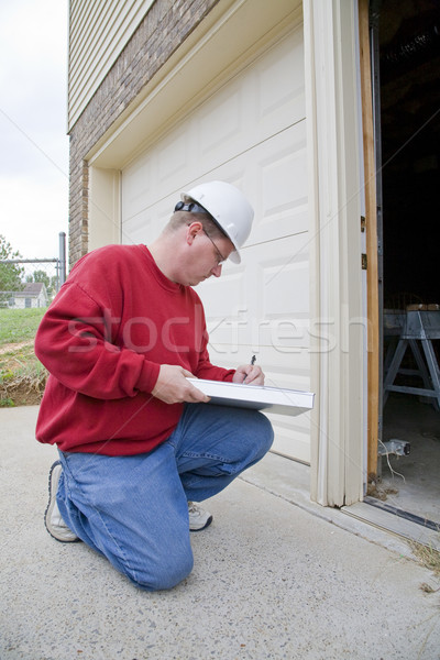 Stock photo: Home Inspector