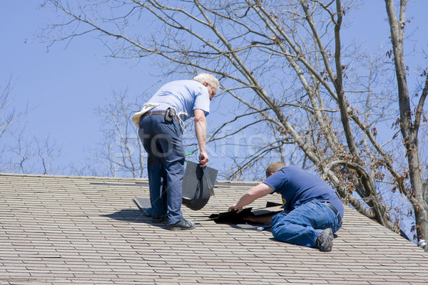 Roof Inspector Stock photo © Trigem4