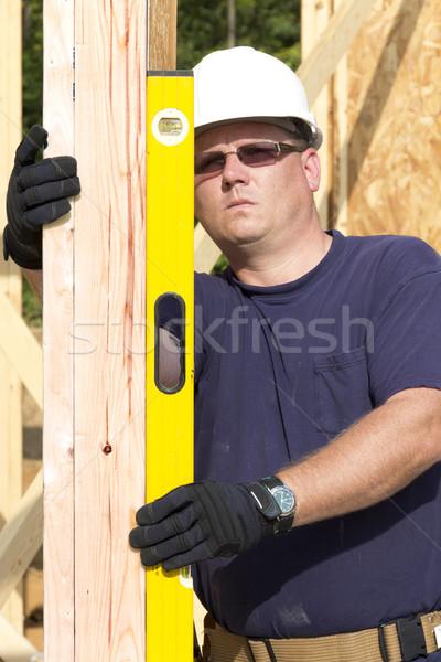Carpenter Stock photo © Trigem4