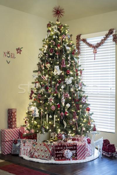 Beautiful Christmas Tree Stock photo © Trigem4