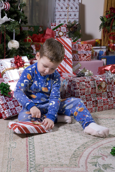 Childs Christmas Stock photo © Trigem4