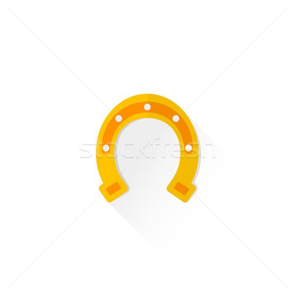 色 スタイル 馬蹄 にログイン アイコン ストックフォト © TRIKONA