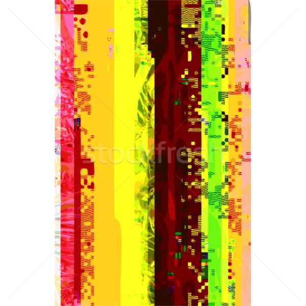 аннотация искусства дизайна вектора Сток-фото © TRIKONA