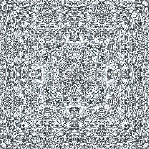 テレビ ノイズ 曼陀羅 パターン ベクトル 現代 ストックフォト © TRIKONA