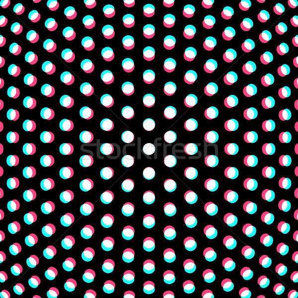 Partículas abstrato superfície vetor projeto preto Foto stock © TRIKONA