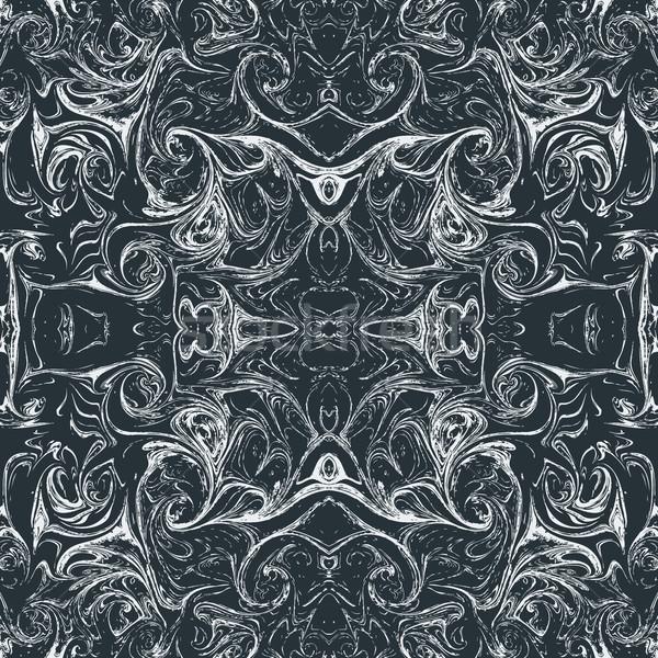vector abstract ebru marbling background Stock photo © TRIKONA