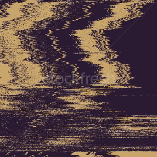 vector television interference glitch Stock photo © TRIKONA