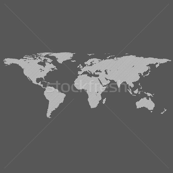 diagonal lines world map Stock photo © TRIKONA
