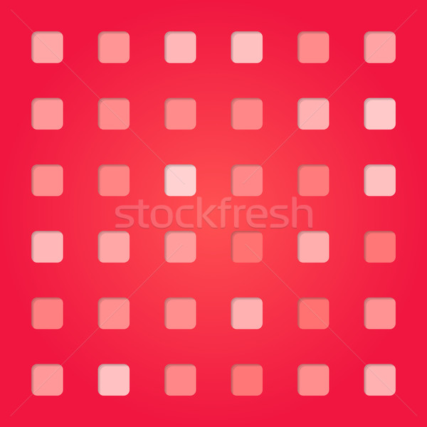 abstract red pink square pattern