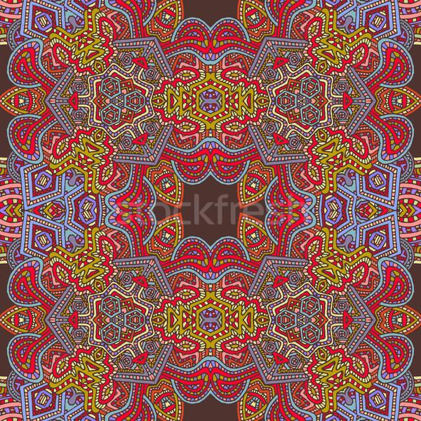 Kleurrijk illustratie vector gekleurd Stockfoto © TRIKONA