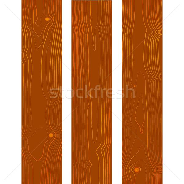 Vetor madeira textura projeto marrom Foto stock © TRIKONA