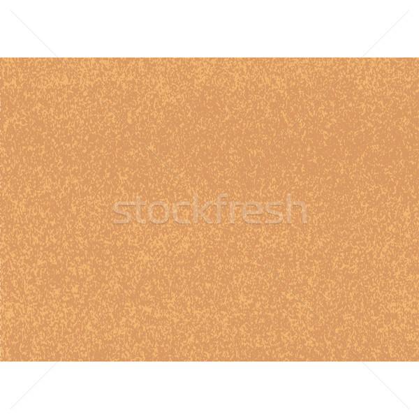 Vector kleur kurk houtstructuur bruin oranje Stockfoto © TRIKONA