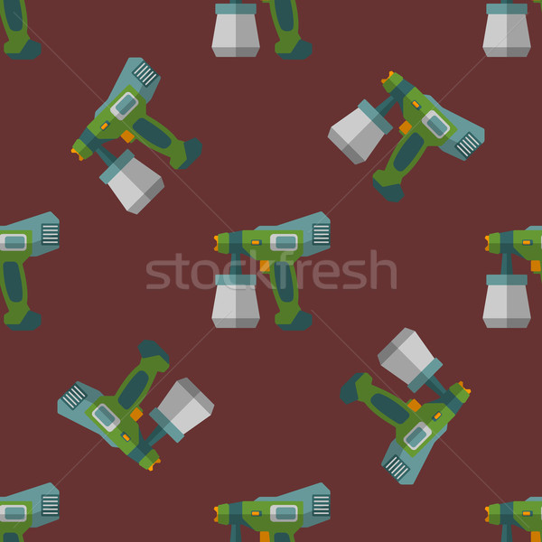 vector fine spray seamless pattern Stock photo © TRIKONA