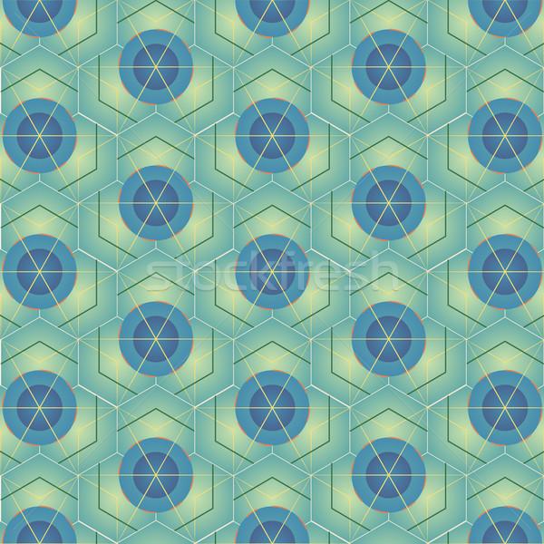 abstract Geometric pattern Stock photo © TRIKONA