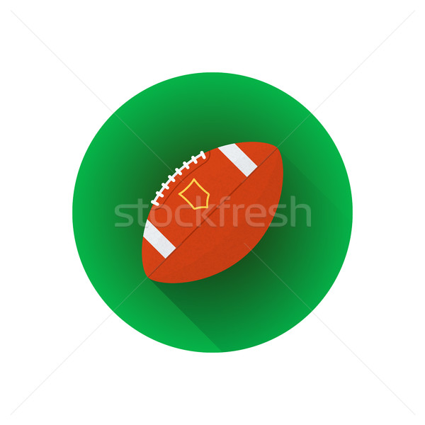 ベクトル アメリカン サッカー ボール カラフル デザイン ストックフォト © TRIKONA