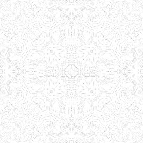 Foto stock: Superfície · forma · padrão · vetor · preto · ondas