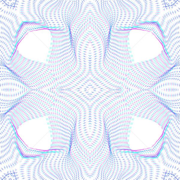 warped parametric surface shape pattern Stock photo © TRIKONA