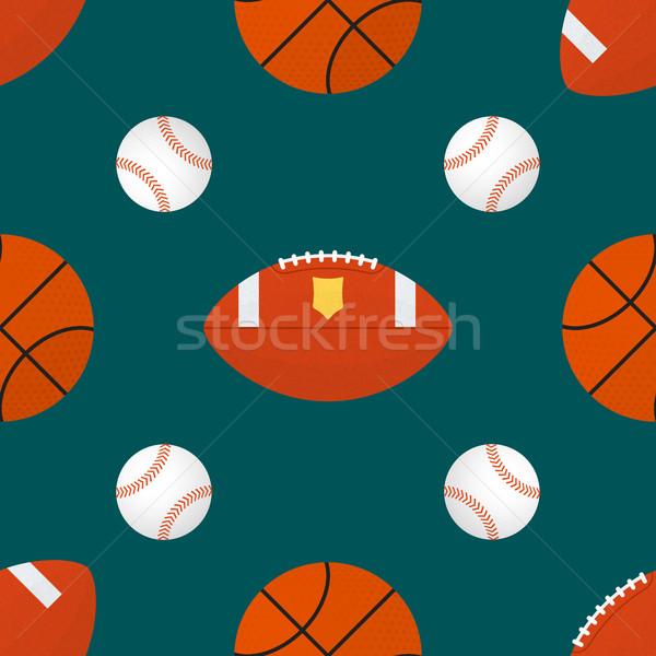 Vetor esportes colorido projeto Foto stock © TRIKONA
