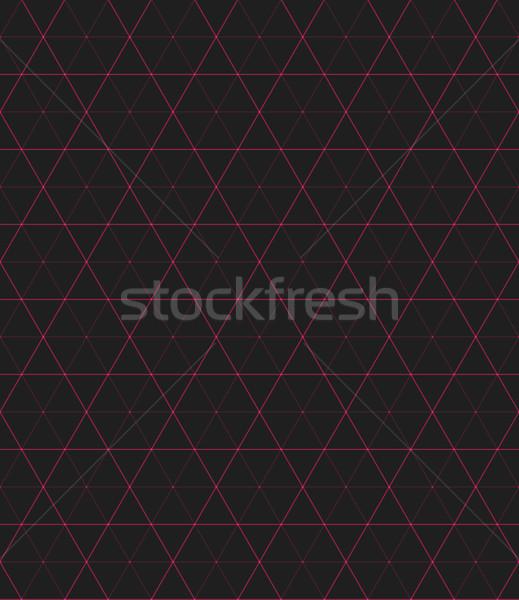 Vector abstract meetkundig paars Rood Stockfoto © TRIKONA