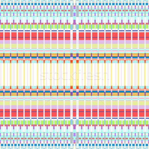 Gekleurd abstract kunst vector kleurrijk Stockfoto © TRIKONA