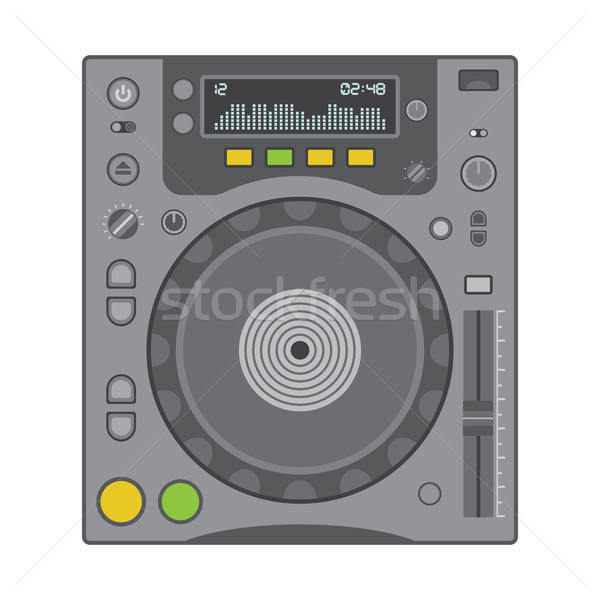 dj cd player Stock photo © TRIKONA