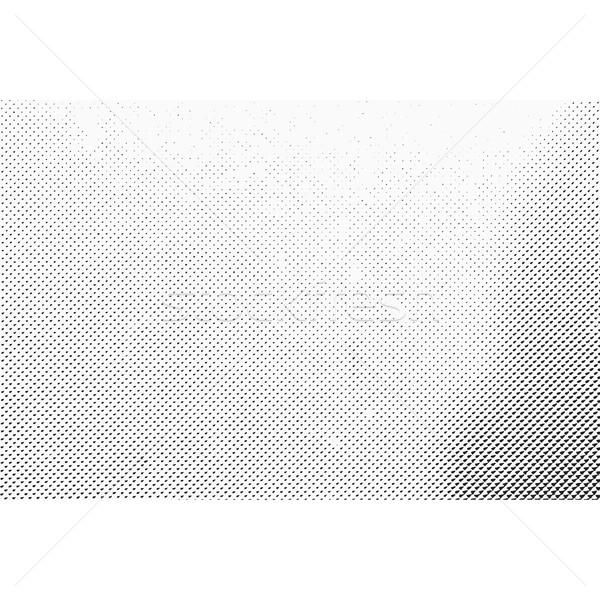 Grunge monokróm halftone textúra vektor gradiens Stock fotó © TRIKONA