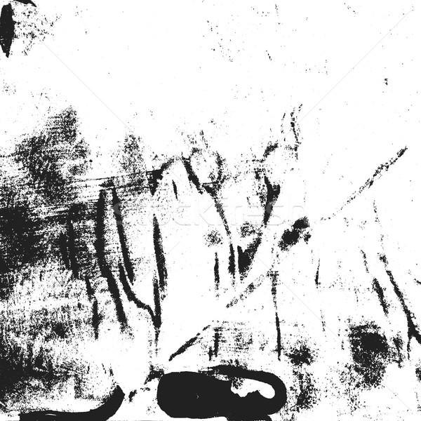 グランジ モノクロ ラフ ヴィンテージ テクスチャ ベクトル ストックフォト © TRIKONA