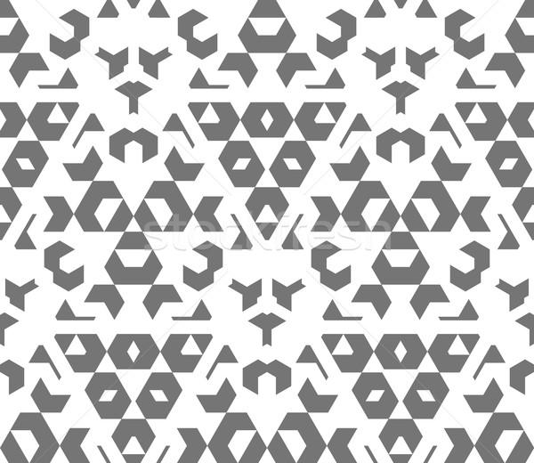темно монохромный цвета аннотация геометрический Сток-фото © TRIKONA