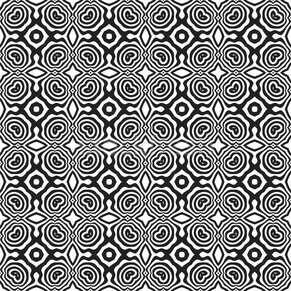 Monocrom abstract vector negru culoare Imagine de stoc © TRIKONA