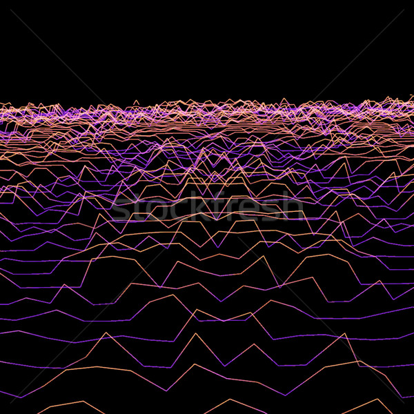 particles glitch abstract surface background