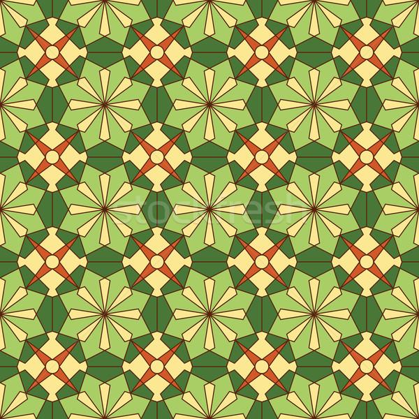 abstract seamless pattern Stock photo © TRIKONA