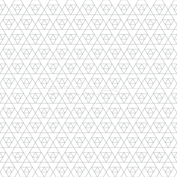 モノクロ 三角形 ベクトル 黒 ストックフォト © TRIKONA