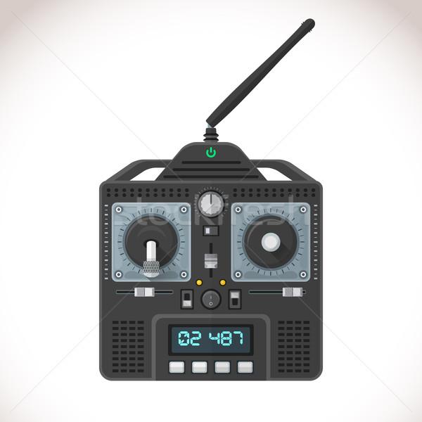 vector radio remote control illustration Stock photo © TRIKONA