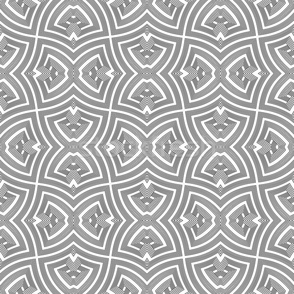 monochrome geometric twisted seamless pattern Stock photo © TRIKONA