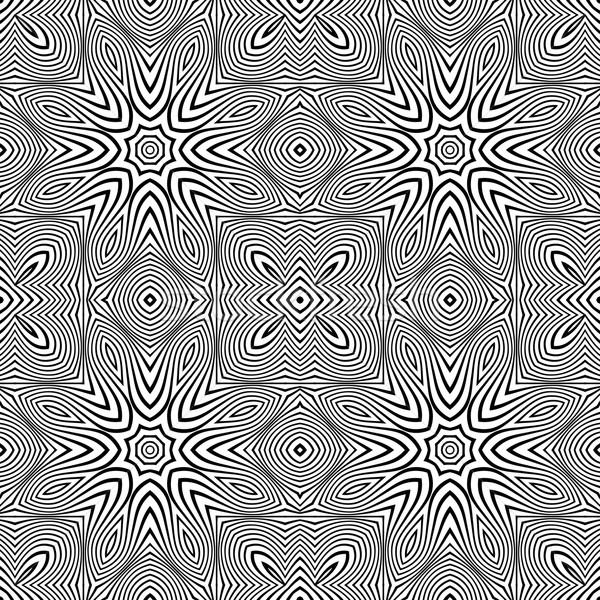 Optikai művészet absztrakt csíkos végtelenített minta Stock fotó © TRIKONA