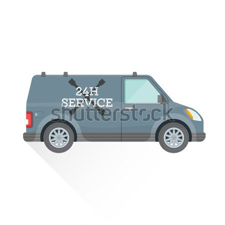 vector flat teal saloon car body style illustration icon