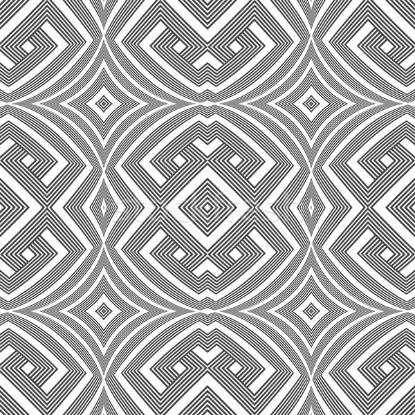 optical art abstract seamless pattern Stock photo © TRIKONA