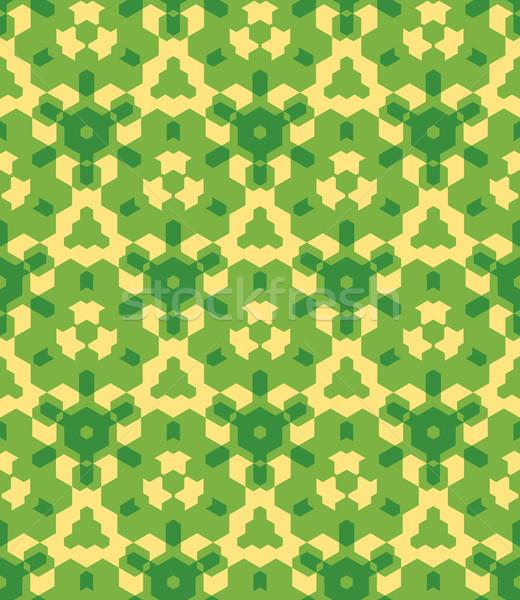 зеленый желтый цвета аннотация геометрический Сток-фото © TRIKONA