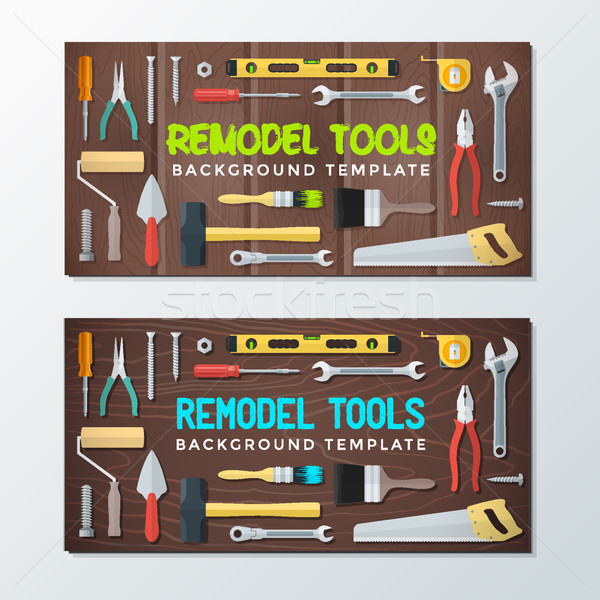 remodel tools backdrops banner templates