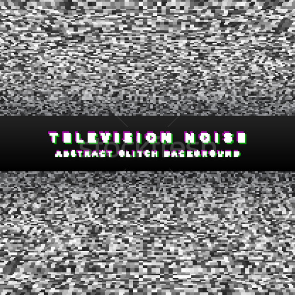 television noise black perspective background
