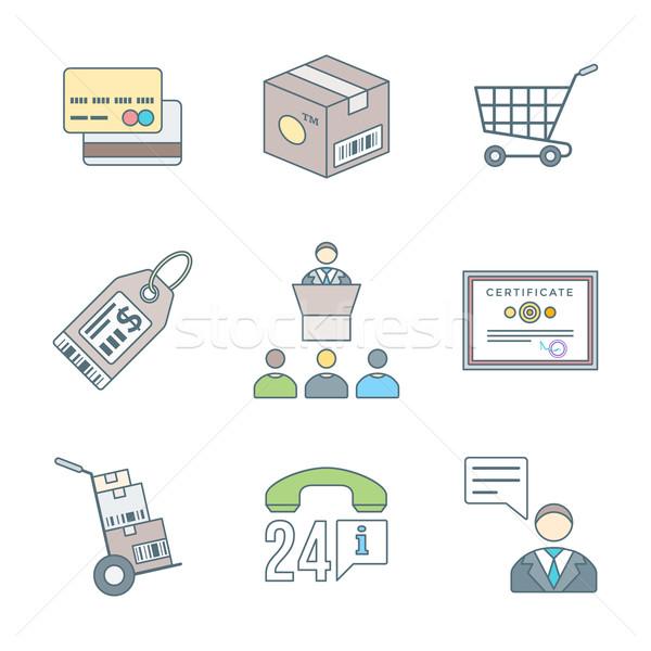 ビジネス ディストリビューション マーケティング ストックフォト © TRIKONA