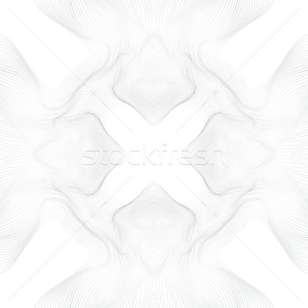 Foto stock: Vetor · preto · linhas · forma · abstrato · ondas