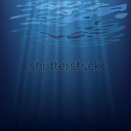 подводного сцена воды морем темно Сток-фото © tshooter