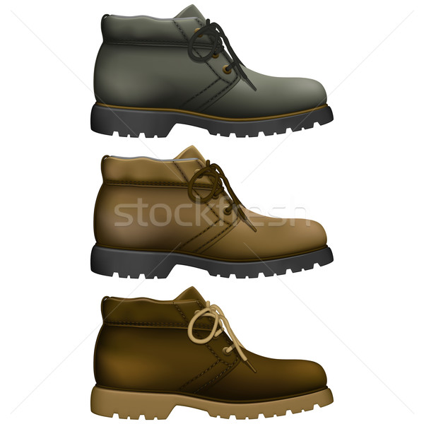 Work Boots Stock photo © tshooter