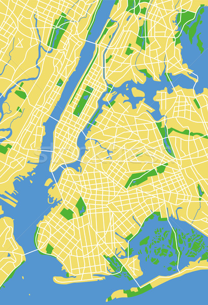 Нью-Йорк карта город улице обои Сток-фото © tshooter