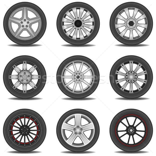Band verschillend banden auto ontwerp Stockfoto © tshooter