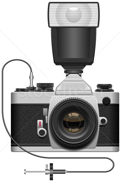 SLR Camera Stock photo © tshooter