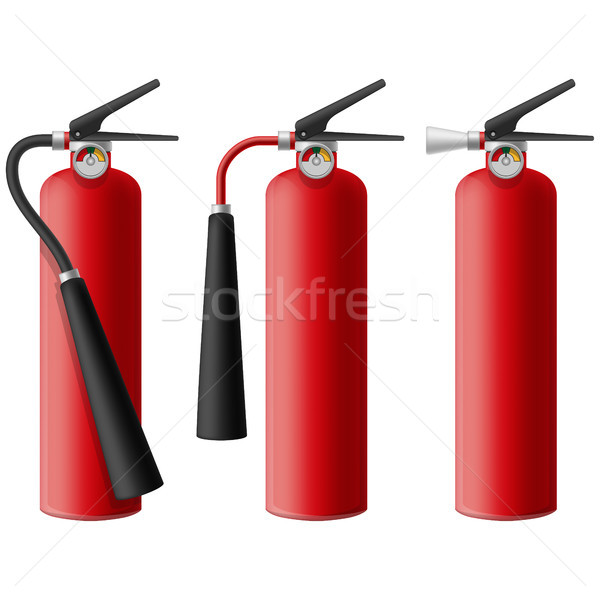 Fire Extinguisher Stock photo © tshooter